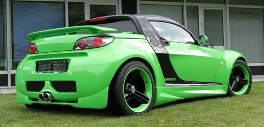oxigen smart roadster verde kawasaki per non passare. Black Bedroom Furniture Sets. Home Design Ideas