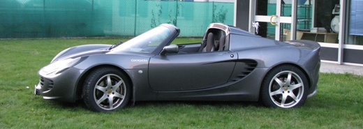 Lotus Elise - visione laterale