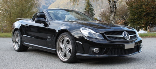 SL63AMG - visione frontale