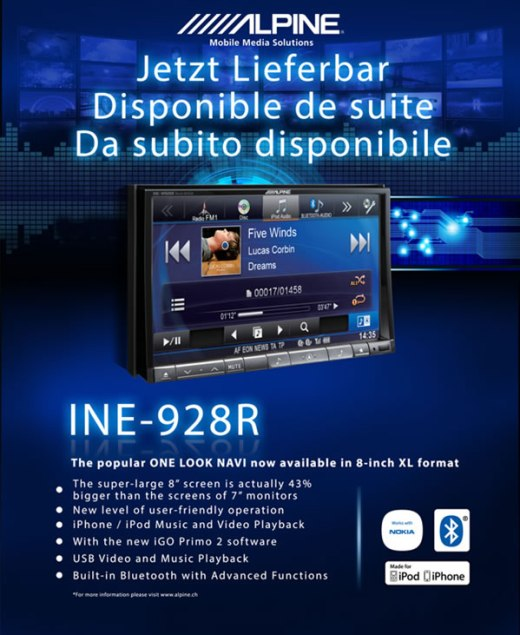 ALPINE INE-928 R
